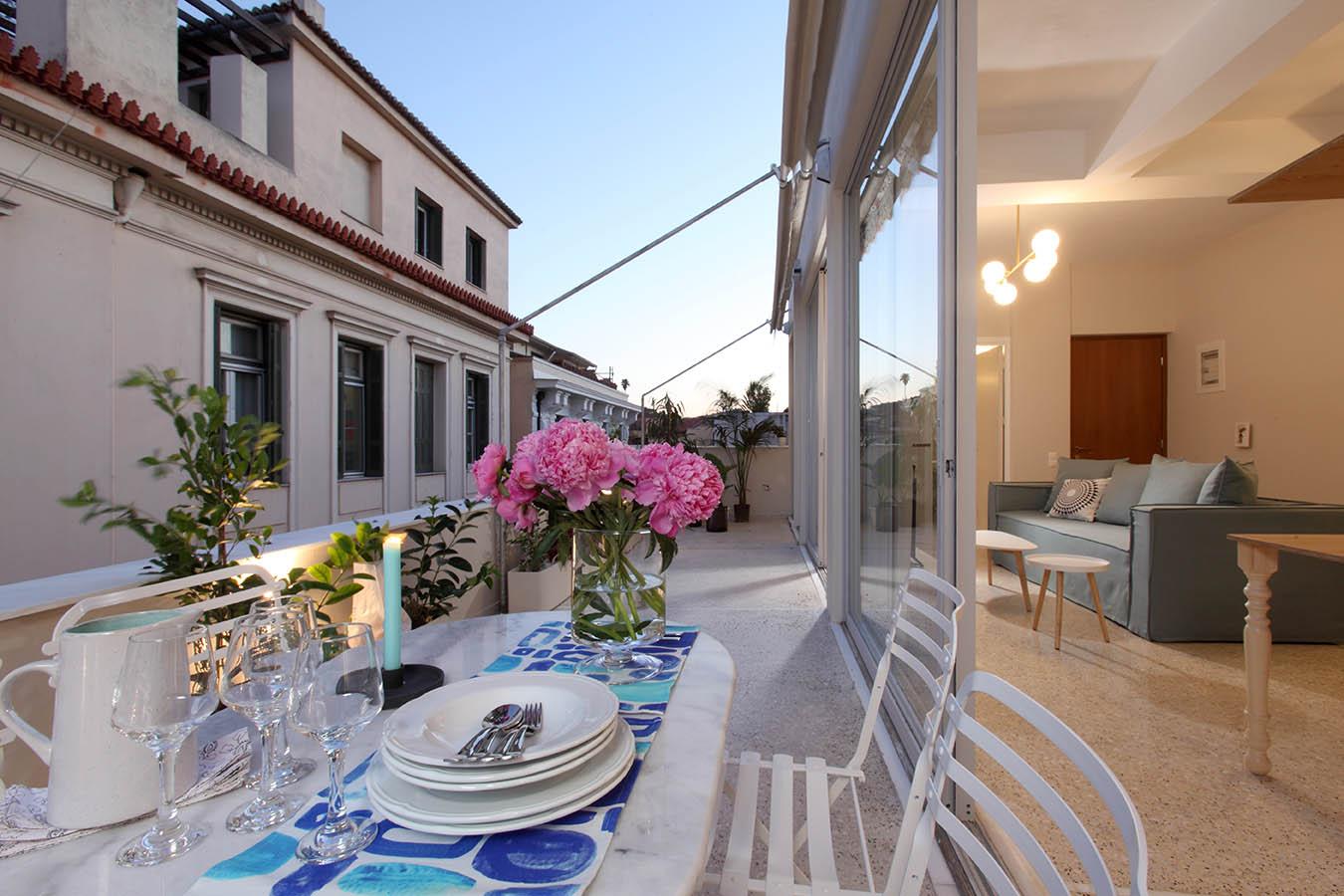 Queen Suite with terrace
